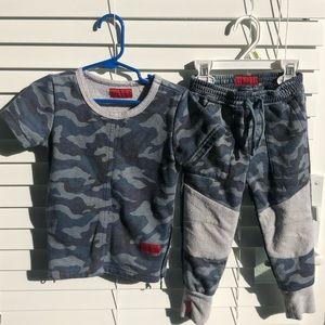 Haus of Jr matching sweat suit set